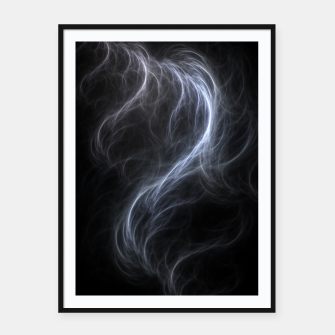 Filament Cloud Fractal Art Framed poster thumbnail image