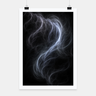 Filament Cloud Fractal Art Poster thumbnail image