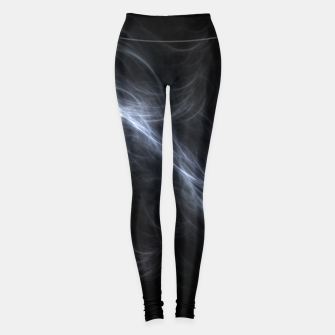 Filament Cloud Fractal Art Leggings thumbnail image