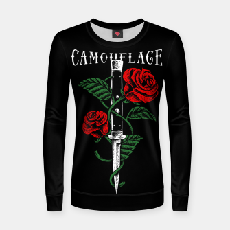 Thumbnail image of Camouflage Women sweater, Live Heroes