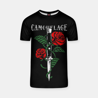 Thumbnail image of Camouflage T-shirt, Live Heroes