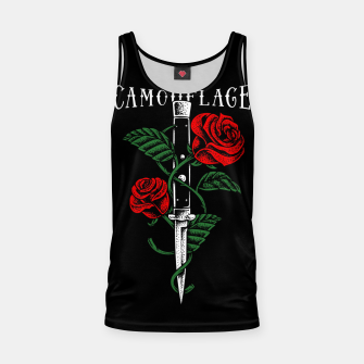 Thumbnail image of Camouflage Tank Top, Live Heroes
