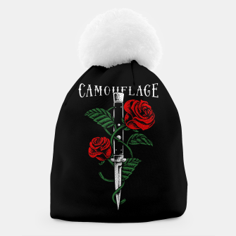 Thumbnail image of Camouflage Beanie, Live Heroes