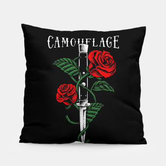 Thumbnail image of Camouflage Pillow, Live Heroes