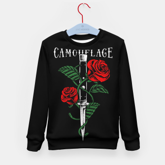 Thumbnail image of Camouflage Kid's sweater, Live Heroes
