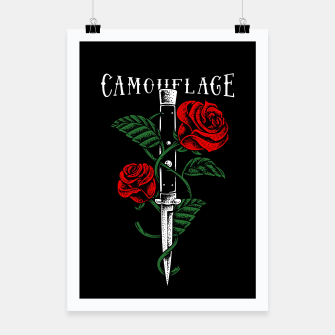 Thumbnail image of Camouflage Poster, Live Heroes