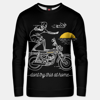 Thumbnail image of Dont Try This at Home Unisex sweater, Live Heroes
