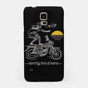 Thumbnail image of Dont Try This at Home Samsung Case, Live Heroes