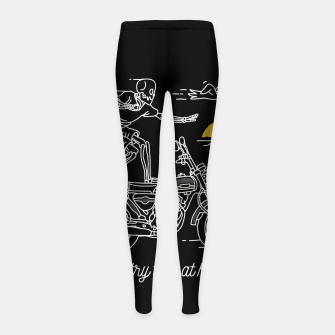 Thumbnail image of Dont Try This at Home Girl's leggings, Live Heroes