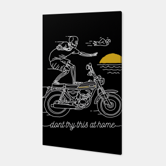 Thumbnail image of Dont Try This at Home Canvas, Live Heroes