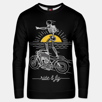 Miniatur Ride and Fly Unisex sweater, Live Heroes