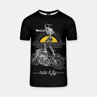 Miniatur Ride and Fly T-shirt, Live Heroes