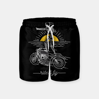 Miniatur Ride and Fly Swim Shorts, Live Heroes