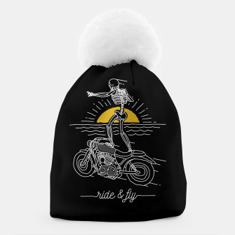 Miniatur Ride and Fly Beanie, Live Heroes