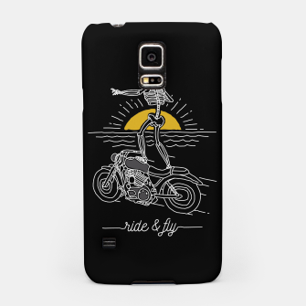 Miniatur Ride and Fly Samsung Case, Live Heroes