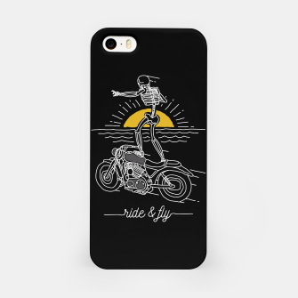 Miniatur Ride and Fly iPhone Case, Live Heroes