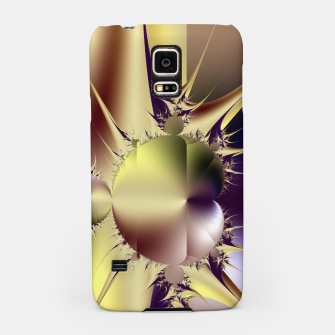 Miniatur Abstract Fractal Art Samsung Case, Live Heroes