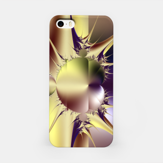 Miniatur Abstract Fractal Art iPhone Case, Live Heroes