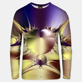 Miniatur Abstract Fractal Art Unisex sweater, Live Heroes