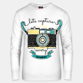 Thumbnail image of Let's Capture Every Moment Unisex sweater, Live Heroes