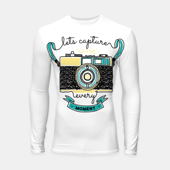 Thumbnail image of Let's Capture Every Moment Longsleeve rashguard , Live Heroes