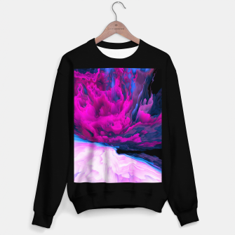 Thumbnail image of Angelic Devil Glitched Fluid Art Sweater regular, Live Heroes