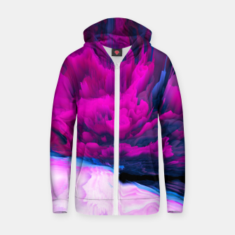 Thumbnail image of Angelic Devil Glitched Fluid Art Zip up hoodie, Live Heroes