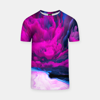 Thumbnail image of Angelic Devil Glitched Fluid Art T-shirt, Live Heroes