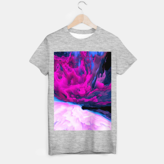 Thumbnail image of Angelic Devil Glitched Fluid Art T-shirt regular, Live Heroes