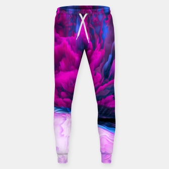Thumbnail image of Angelic Devil Glitched Fluid Art Sweatpants, Live Heroes
