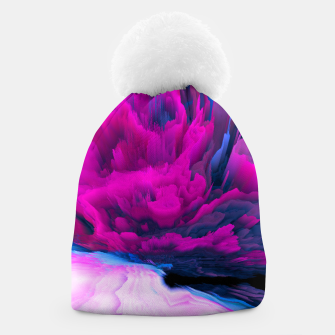 Thumbnail image of Angelic Devil Glitched Fluid Art Beanie, Live Heroes