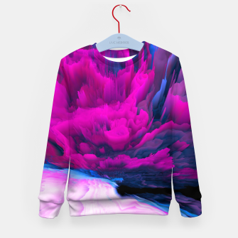 Thumbnail image of Angelic Devil Glitched Fluid Art Kid's sweater, Live Heroes