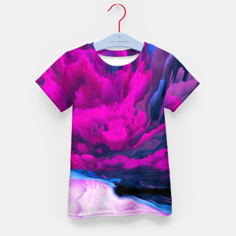 Thumbnail image of Angelic Devil Glitched Fluid Art Kid's t-shirt, Live Heroes