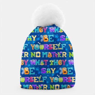 Thumbnail image of Be Yourself - Pattern Gorro, Live Heroes