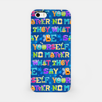 Thumbnail image of Be Yourself - Pattern Carcasa por Iphone, Live Heroes