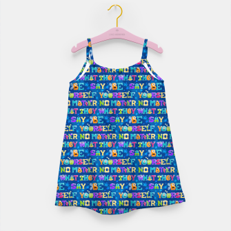 Thumbnail image of Be Yourself - Pattern Vestido para niñas, Live Heroes