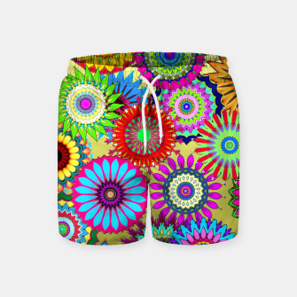 Thumbnail image of Psy Flowers Swim Shorts, Live Heroes