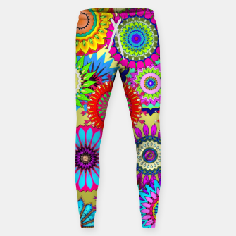 Thumbnail image of Psy Flowers Sweatpants, Live Heroes