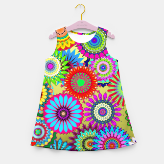 Thumbnail image of Psy Flowers Girl's summer dress, Live Heroes