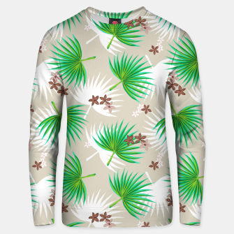 Miniatur green plants Unisex sweater, Live Heroes