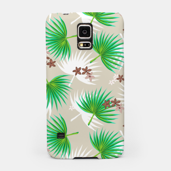 Miniatur green plants Samsung Case, Live Heroes