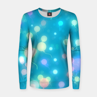 Thumbnail image of Pastel Balloons Women sweater, Live Heroes