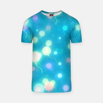 Thumbnail image of Pastel Balloons T-shirt, Live Heroes