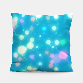 Thumbnail image of Pastel Balloons Pillow, Live Heroes
