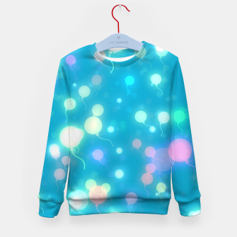 Thumbnail image of Pastel Balloons Kid's sweater, Live Heroes