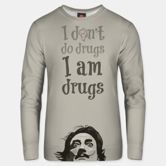 Miniaturka I am drugs Unisex sweater, Live Heroes