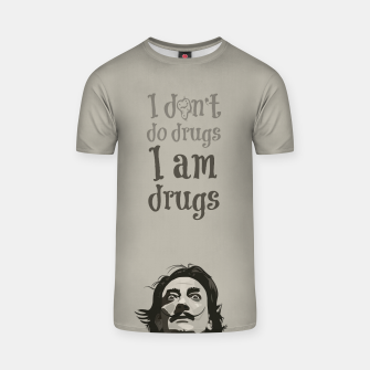 Miniaturka I am drugs T-shirt, Live Heroes