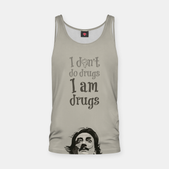 Miniaturka I am drugs Tank Top, Live Heroes