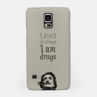 Miniaturka I am drugs Samsung Case, Live Heroes