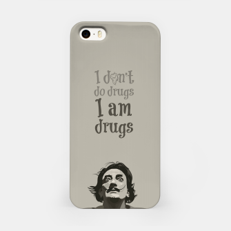 Miniaturka I am drugs iPhone Case, Live Heroes